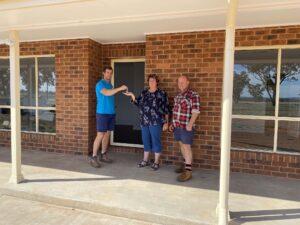 Jolly's Key Handover for New Home