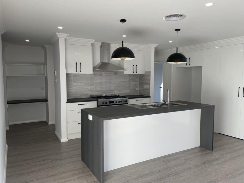 Kitchen, New home by Outback Builders